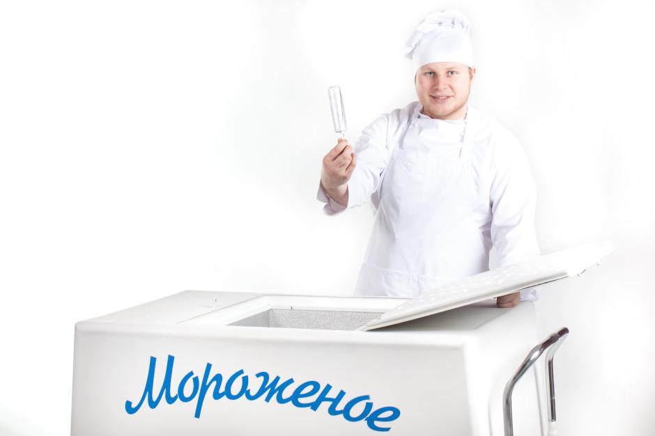Тележка мороженого СССР