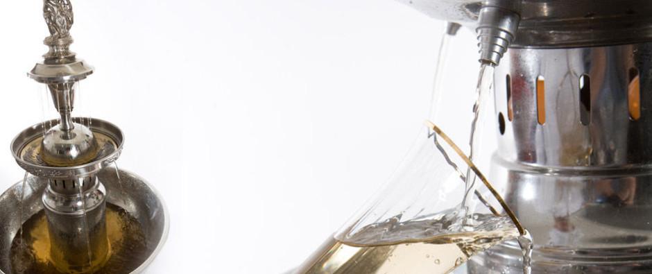 Фонтан для шампанского