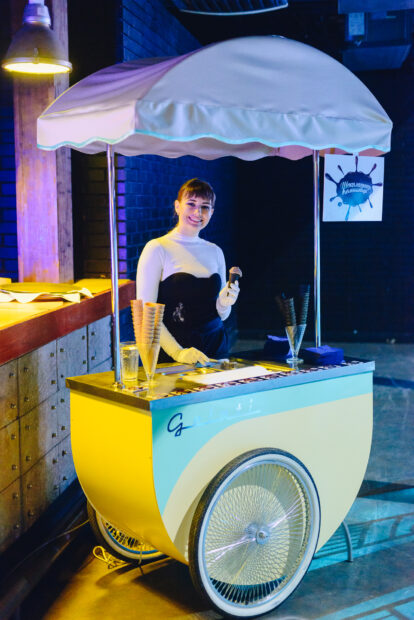 аренда тележки с мороженым на мероприятие