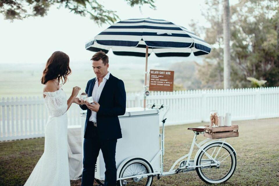 Почему тележка с мороженым должна быть на любой свадьбе?