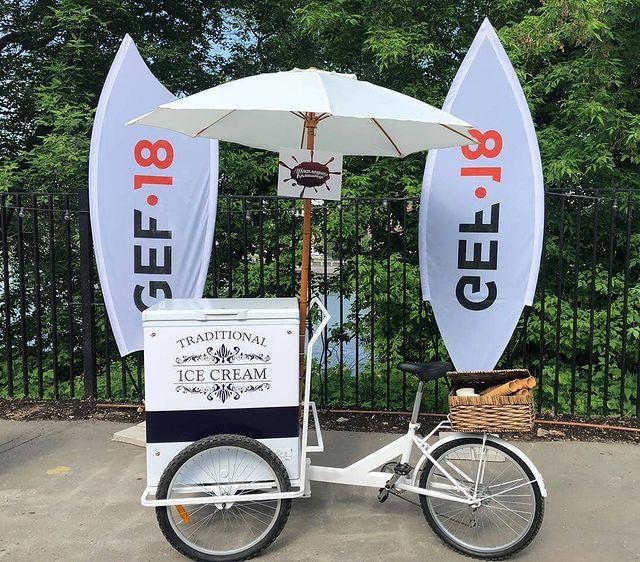 велосипед с мороженым на мероприятие в Москве